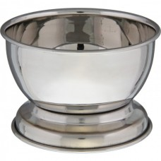 Shaving bowl from Tonsor, stainless steel, chrome-plated