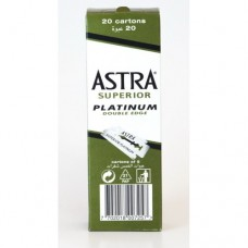 ASTRA SUPERIOR PLATINUM Double Edge Safety blades 100 pcs