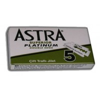 ASTRA SUPERIOR PLATINUM Double Edge Safety blades 5 pcs