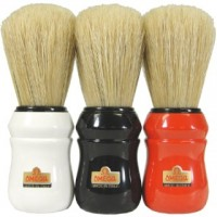 Omega 10049 Boar Bristle Shaving Brush  PRO 49 red / black / white.